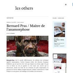 Bernard Pras, maître de l'anamorphose avec ses illusions d'optique