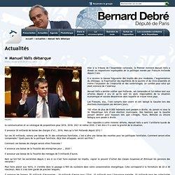Bernard Debré - Député de Paris