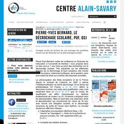 Pierre-Yves BERNARD, Le décrochage scolaire, PUF, QSJ