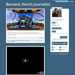 Bernard, french journalist