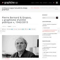Pierre Bernard & Grapus, graphisme d'utilité publique, 1942/2015
