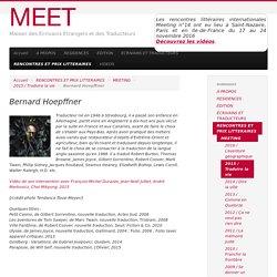 Bernard Hoepffner - MEET