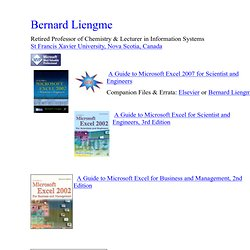 Bernard Liengme
