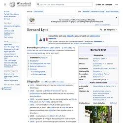 Bernard Lyot