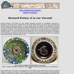 """Bernard Palissy : """"inventeur des figulines rustiques du roi des Gaules"""""""