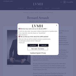 Bernard Arnault, Président-directeur général de LVMH