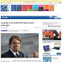 La garde à vue de Bernard Tapie encore prolongée