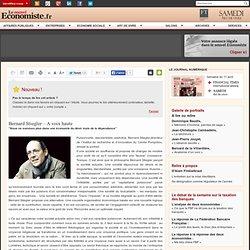 Bernard Stiegler – A voix haute