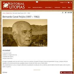 Bernardo Canal Feijóo (1897 – 1982)