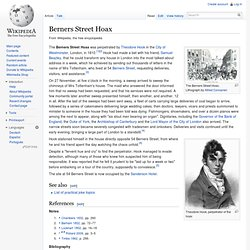Berners Street Hoax