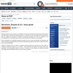 Bernheim, Dreyfus & Co : beau geste