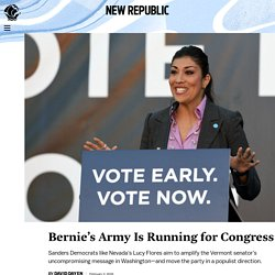 Bernie's Army Is Running for Congress