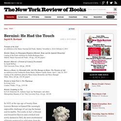 Bernini: He Had the Touch by Ingrid D. Rowland