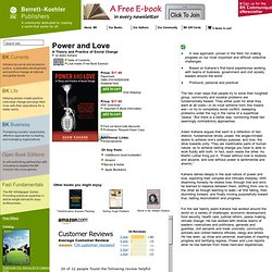 Power and Love by Adam Kahane | Berrett-Koehler Publishers