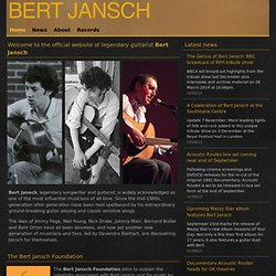 bert jansch | official website