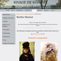 Berthe Morisot. Biographie, oeuvre