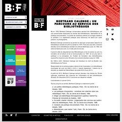 Bertrand Calenge : un parcours au service des bibliothèques