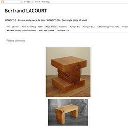 Bertrand LACOURT: Pièces diverses