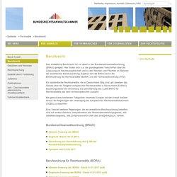 Bundesrechtsanwaltskammer ~ Berufsrecht