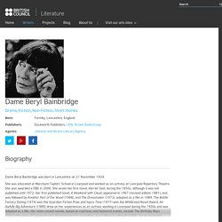Dame Beryl Bainbridge - Literature