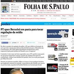 PT quer Berzoini em pasta para tocar regulação da mídia - 29/10/2014 - Poder