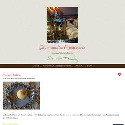 Gourmandise & pâtisserie