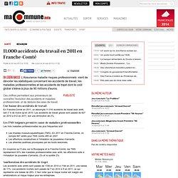 Santé, Besançon : 11.000 accidents du travail en 2011 en Franche-Comté actualité Besançon Franche
