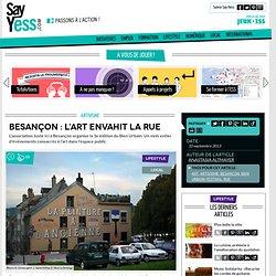 Besançon : l'art envahit la rue