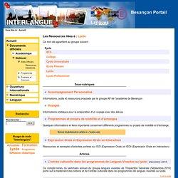 Besançon Portail Langues - Ressources EDUSCOL