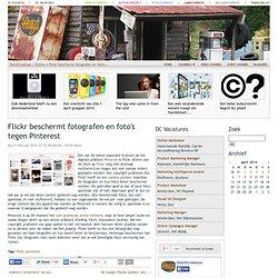 Flickr beschermt fotografen en foto's tegen Pinterest