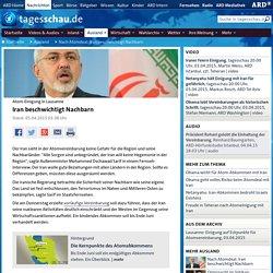 Atom-Einigung in Lausanne: Iran beschwichtigt Nachbarn