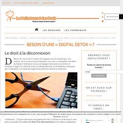 Besoin d'une « Digital Detox»