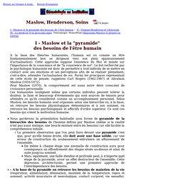 14 BESOINS fondamentaux de l'HOMME (Henderson)