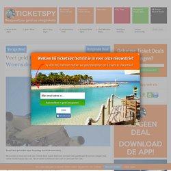Veel geld besparen met de Super Woensdag Ticket Actie - TicketSpy