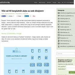 40 besplatnih alata za web dizajnere - AdriaHost blog