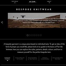 Bespoke Knitwear | Mati Ventrillon