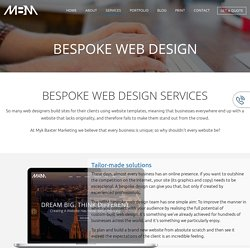 Bespoke Website Design Services in London