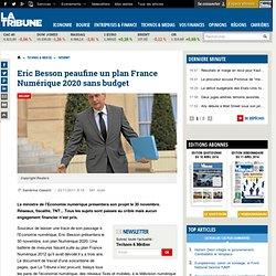 Eric Besson peaufine un plan France Numérique 2020 sans budget