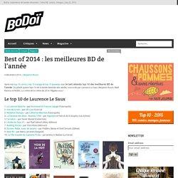Best of 2014 : les meilleures BD de l'année