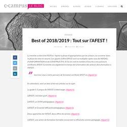 Best of 2018/2019 : Tout sur l'AFEST !