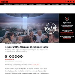 Best of 2018: Aliens at the dinner table