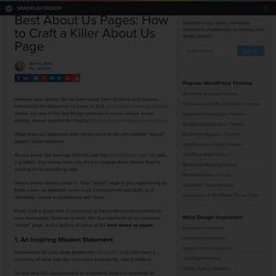 Best About Us Pages: How to Craft a Killer About Us Page