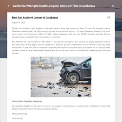 Best Car Accident Lawyer in Calabasas