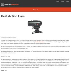 Best Action Camera in 2014: Which one is it?