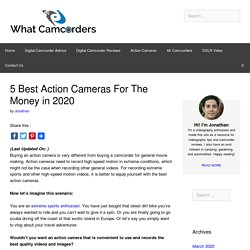 5 Best Action Cameras For The Money in 2020