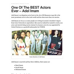 One Of The BEST Actors Ever – Adel Imam – Arabic Actors
