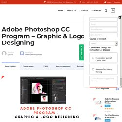 Best Adobe Photoshop CC Classes Near Me.