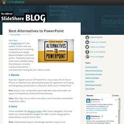 Best Alternatives to PowerPoint