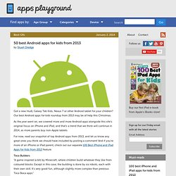 50 best Android apps for kids from 2013