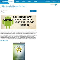 best android apps for men